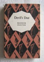 Devil's Due - Maurice Procter (1960) - vintage hardback crime fiction book